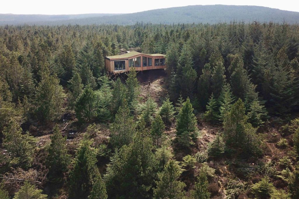 Outer Hebrides Treehouse