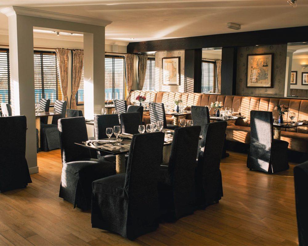 Fine dining on North Uist
