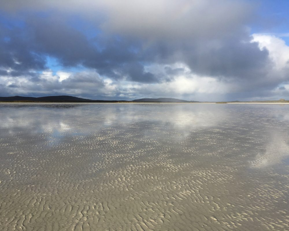 reflections on the Vallay Strand