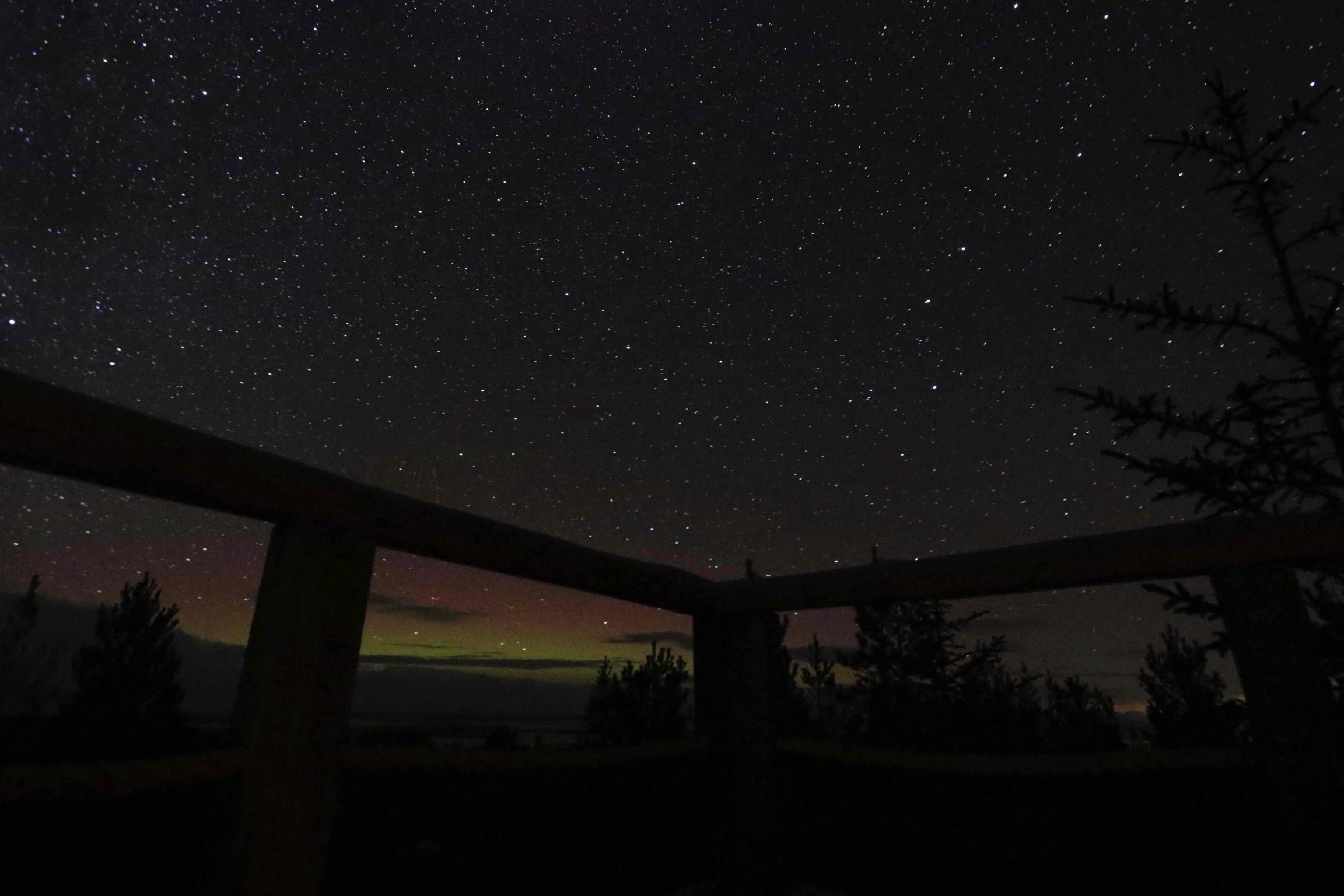 Norther Lights from your balcony