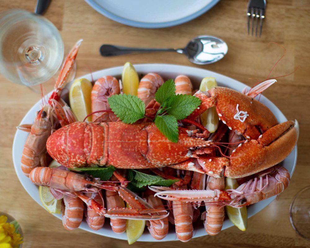 lobster prawns